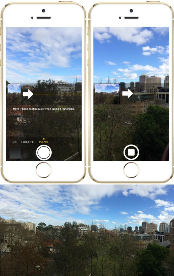 Mr & Mrs Romance - iPhone 5 camera - Pano collage