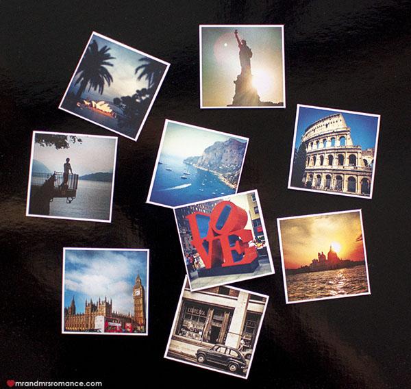 Mr and Mrs Romance - print instagram magnet sticky9