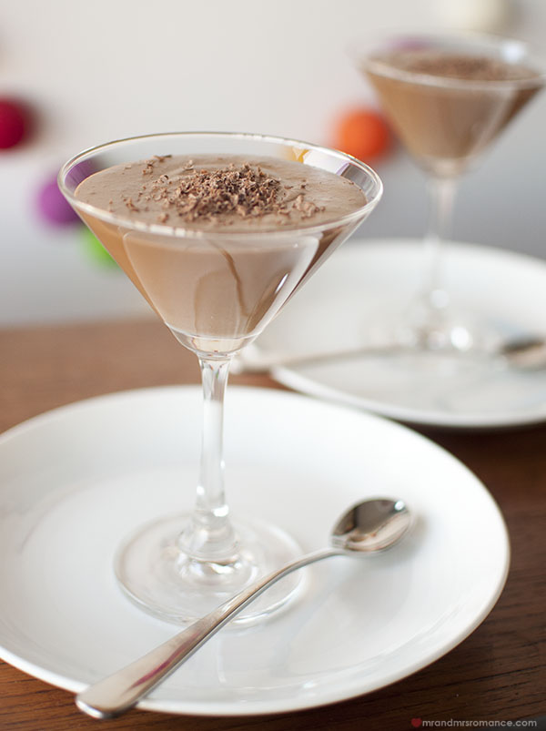 Mr and Mrs Romance - the easiest and the best Chocolate mousse recipe