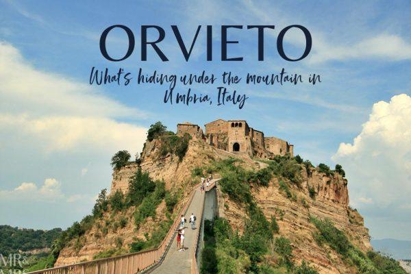 Orvieto, Umbria, Italy - Pozzo della Cava Mr and Mrs Romance