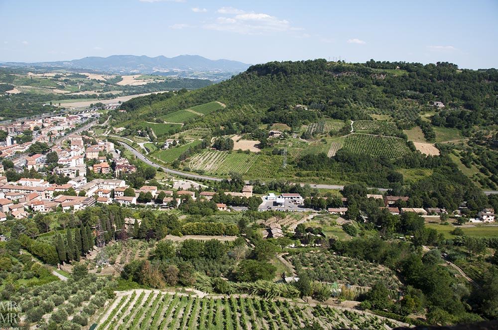 Orvieto, Umbria, Italy - Pozzo della Cava Mr and Mrs Romance - Umbrian countryside