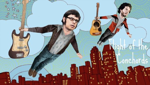 flight-of-the-conchords collage