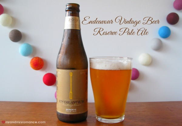 Mr & Mrs Romance - Aussie beers - Endeavour