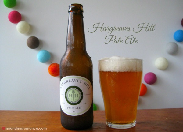 Mr & Mrs Romance - Aussie beers - Hargreaves Hill Pale Ale