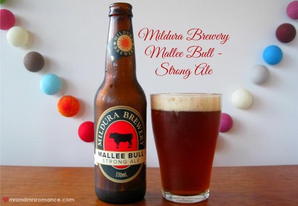 Mr & Mrs Romance - Aussie beers - Mildura Brewery