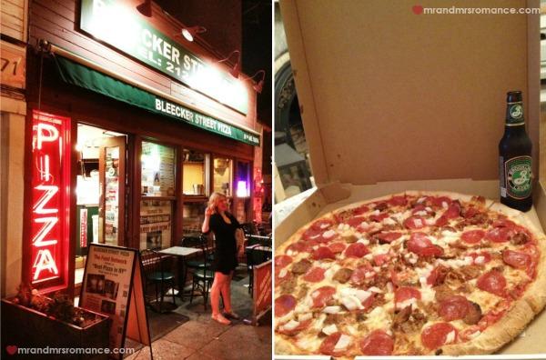 Mr & Mrs Romance - Bleeker pizza NYC