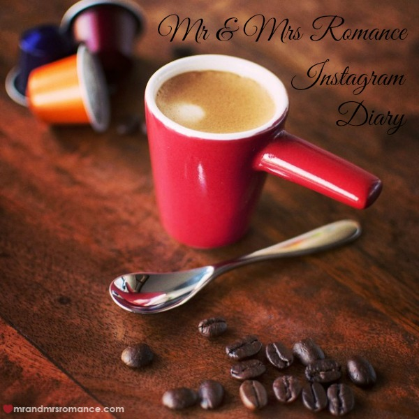 Mr & Mrs Romance - Insta diary - 1 coffee title