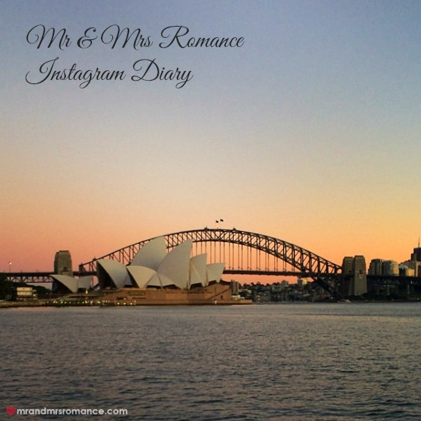 Mr & Mrs Romance - Insta diary - 1 sydney harbour title