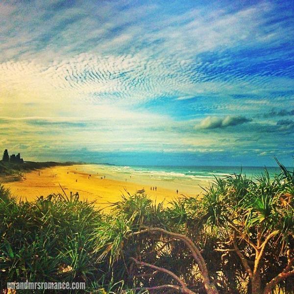Mr & Mrs Romance - Insta diary - 11 Coolum Beach