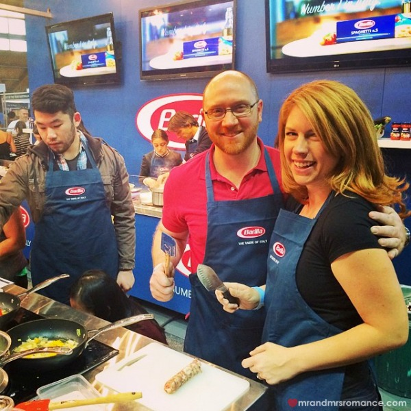 Mr & Mrs Romance - Insta diary - 12 Barilla cooking lesson at SGFWS