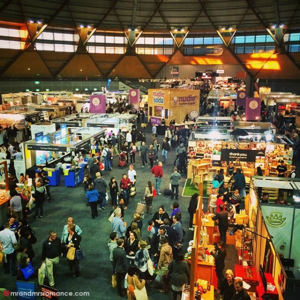 Mr & Mrs Romance - Insta diary - 13 Sydney Good Food & Wine Show