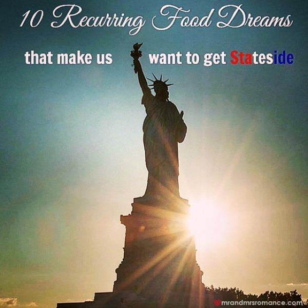 Mr & Mrs Romance - Insta diary - 2 USA food post