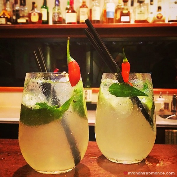Mr & Mrs Romance - Insta diary - 5 chilli mojito from Spicers Tamarind