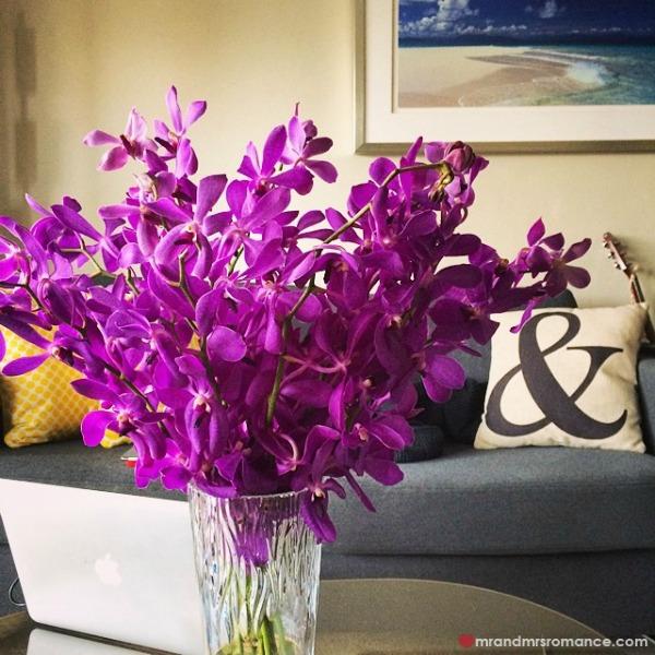 Mr & Mrs Romance - Insta diary - 5 flowers for Mrs R