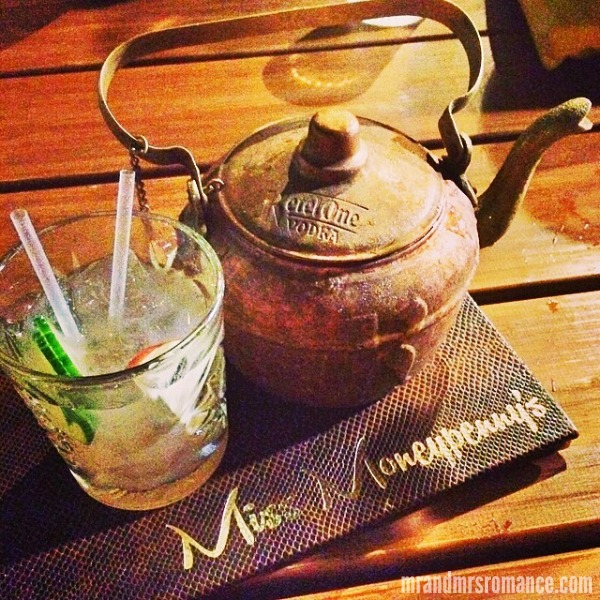 Mr & Mrs Romance - Insta diary - 6 cocktails in Miss Moneypenny's, Noosa