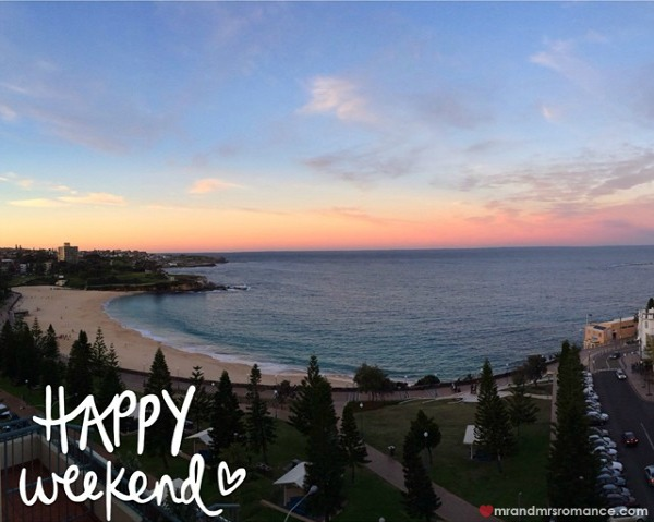 Mr & Mrs Romance - Insta diary - 8 sunset at Coogee