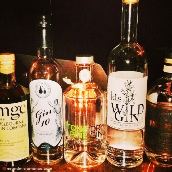 Mr & Mrs Romance - Insta diary - 9 gin tasting with Mrs CC and Steph!