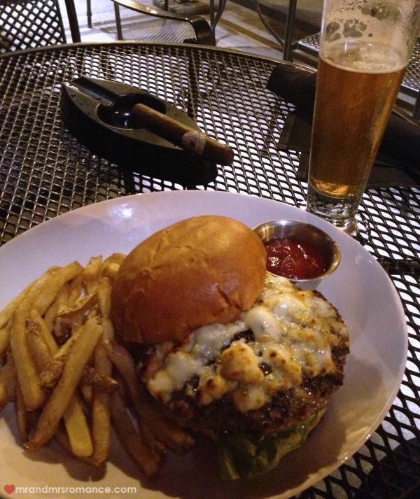 Mr & Mrs Romance - THE burger, Sullivan's Chicago