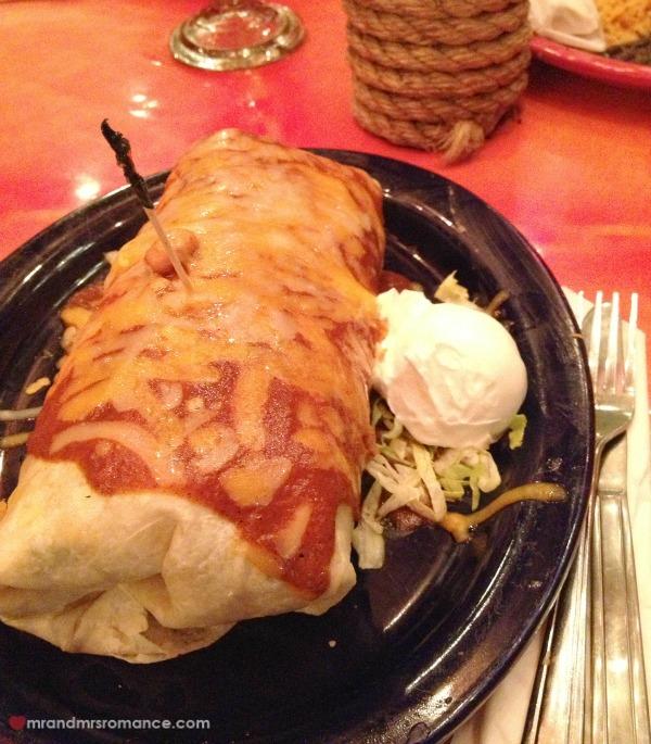 Mr & Mrs Romance - burrito San Diego