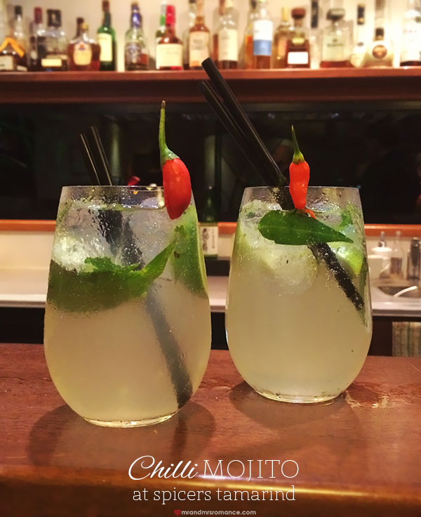 Mr and Mrs Romance - Chilli Mojito recipe from Spiers Tamarind