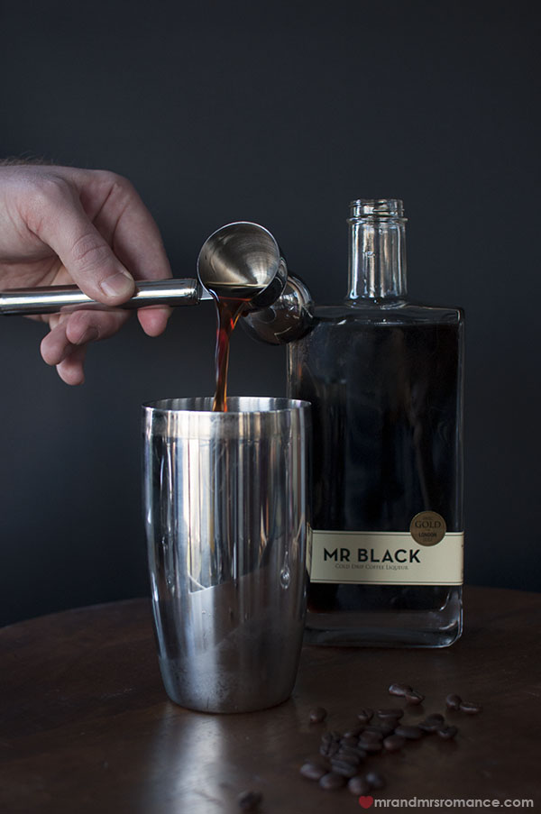 Mr and Mrs Romance - Mocha Espresso Martini cocktail recipe