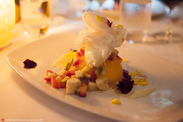 Mr and Mrs Romance - Noosa Beach House Restaurant dessert