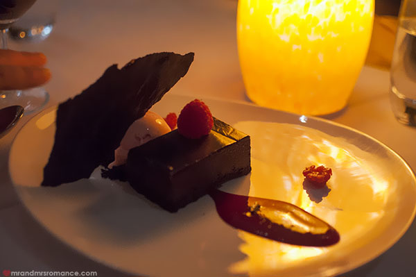 Mr and Mrs Romance - Noosa Beach House Restaurant desserts