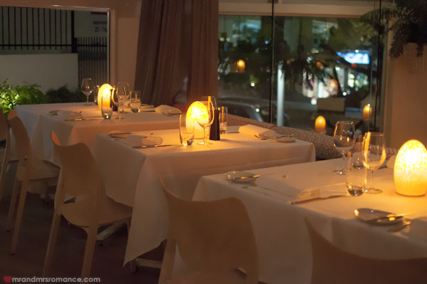 Mr and Mrs Romance - Noosa Beach House Restaurant interiors