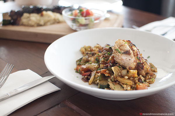 Mr and Mrs Romance - SHUK Bondi review - chicken cous cous