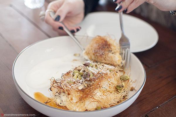 Mr and Mrs Romance - SHUK Bondi review - dessert