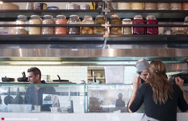 Mr and Mrs Romance - SHUK Bondi review - kitchen