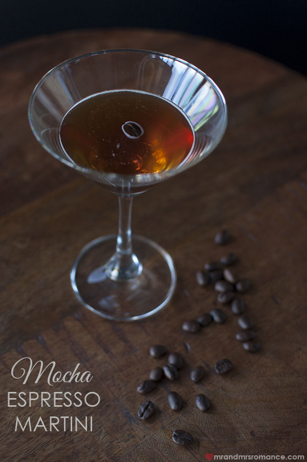 Mr and Mrs Romance - Styling You Mocha Espresso Martini cocktail recipe
