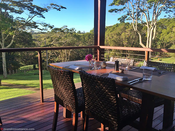 Mr and Mrs Romance - dining at Spicers Tamarind