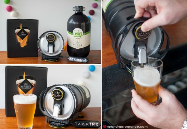 Mr and Mrs Romance - drinks gadgets - 2 Tap King