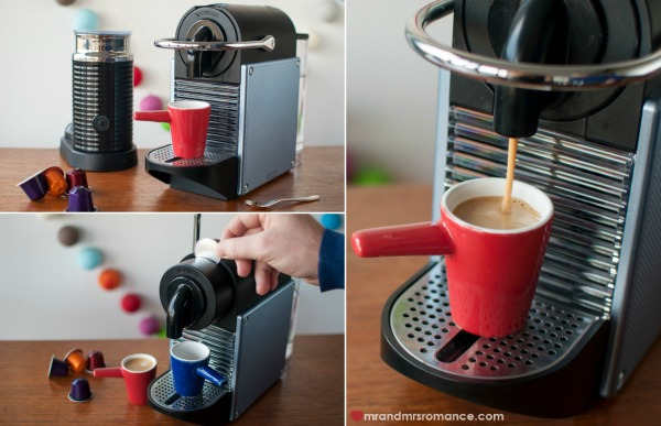 Mr and Mrs Romance - drinks gadgets - 4 Nespresso Pixie