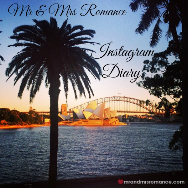 Mr & Mrs Romance - Insta diary - 1 title sunrise over Sydney