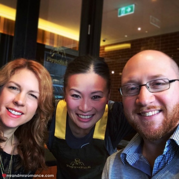 Mr & Mrs Romance - Insta diary - 11 Lunch at PappaRich with Poh