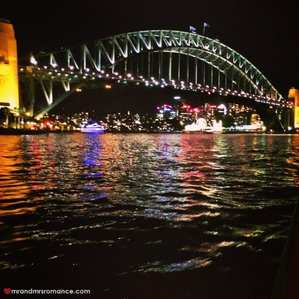 Mr & Mrs Romance - Insta diary - 12 Sydney Harbour Bridge and Luna Park