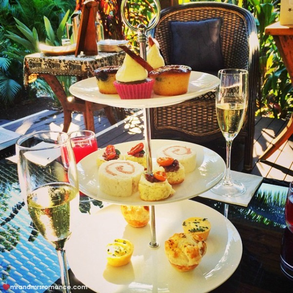 Mr & Mrs Romance - Insta diary - 7 high tea at Ikatan Balinese Spa