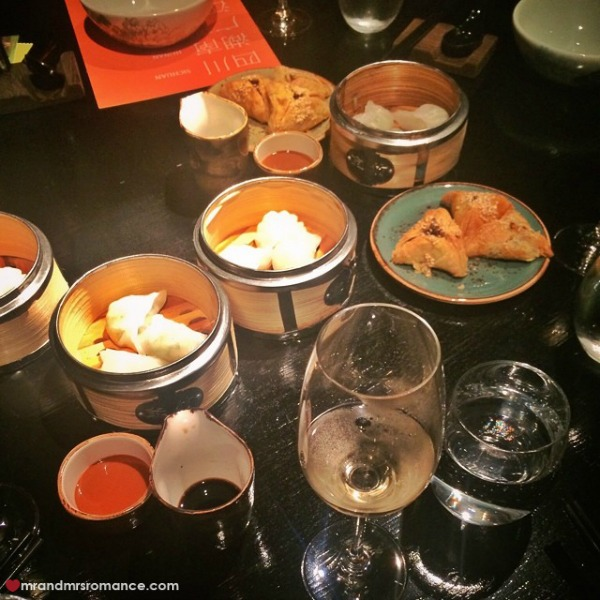 Mr & Mrs Romance - Insta diary - 9 Spice Temple lunch