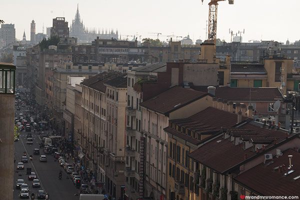 Mr and Mrs Romance - Best things to do in Milan Italy - Corso Buenos Aires