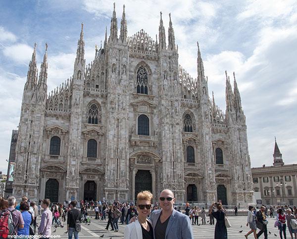 Mr and Mrs Romance - Best things to do in Milan Italy - Il Duomo