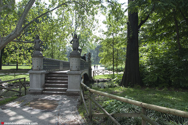 Mr and Mrs Romance - Best things to do in Milan Italy - Sforsa park