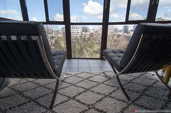 Mr and Mrs Romance - Home Tour - Sunroom views