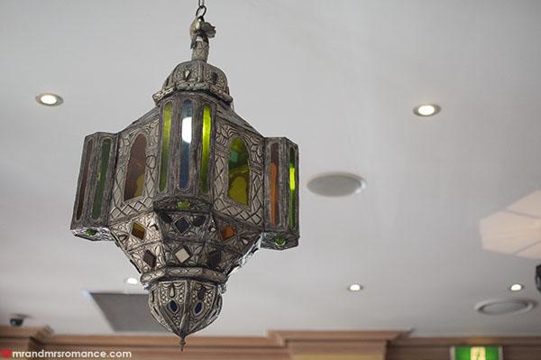 Mr and Mrs Romance - Kazbah Balmain moroccan lights