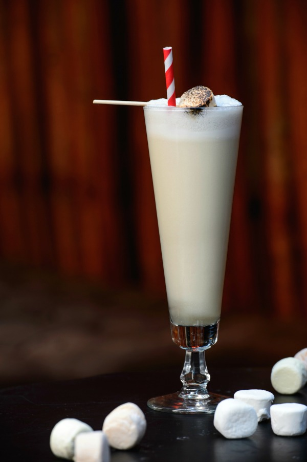 Toasted Marshmallow Gin Fizz 2