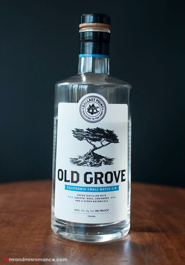 Mr & Mrs Romance - Friday Drinks - Old Grove gin