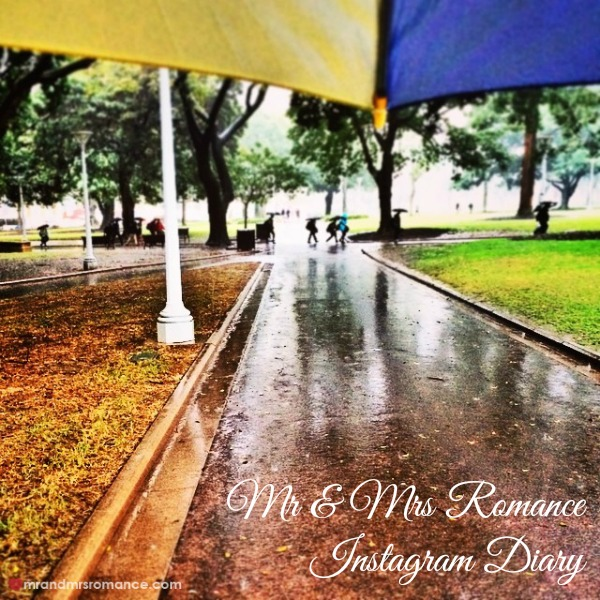 Mr & Mrs Romance - Insta Diary - 1 a wet week