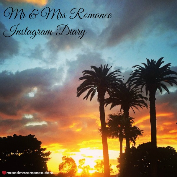 Mr & Mrs Romance - Insta Diary - 1 sunrise over Sydney