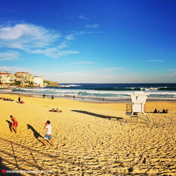 Mr & Mrs Romance - Insta Diary - 10 Bondi Beach